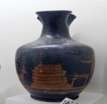 Etrurie Céramique Oenochoé Sacrifice Vulci Rome MNE