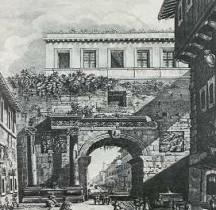Rome Rione Campo Marzio Arc de Portogallo ( Disparu)