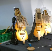 Medieval Nyckelharpa Orange 2016