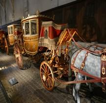1804 Topaze Berline à 7 glaces de Gala Versailles Grandes Ecuries Musée des Carrosses