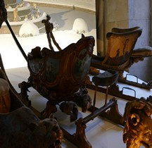 1732 Traineau de neige Jeux Chinois Versailles Grandes Ecuries Musée des Carrosses