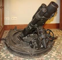 7.62 cm Leichte Minenwerfer Passendale  Zonnebeke