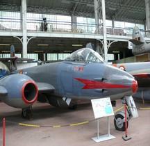 Gloster Meteor Mark VIII Bruxelles