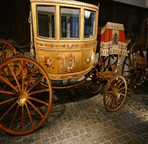 1804 Turquoise Berline a 7 glaces de Gala Versailles Musée des Carrosses