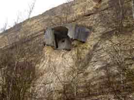 Fort Eben-Emael Bloc Canal Sud (restes)