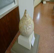 Etrusques Cippe Marbre Italie  Marzabotto