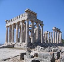 Attique Egine Temple d'Aphaïa