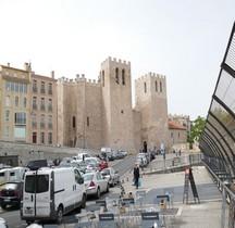 Bouches du Rhone Marseille Abbaye St Victor Exterieur Intérieur