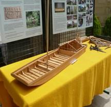 Navire Chaland des Ambiani Maquette