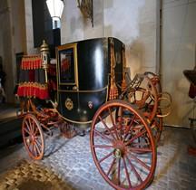 1896 Coupé Présidence République Versailles Grandes Ecuries Musée des Carrosses