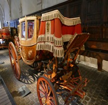1804 Berline à 7 Glaces la Brillante Versailles Grandes Ecuries Musée des Carrosses
