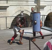 Gladiateur Combat Thrace vs Scutarius Arles 2014