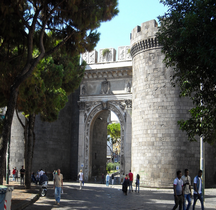 Naples Porta Capouana