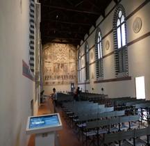 Florence Basilica di Santa Croce Museo Opera Refectoire