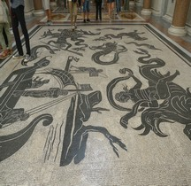 Mosaïque Rome Italie Rome Tor Marciano Ulysse Vs Sirènes  Vatican