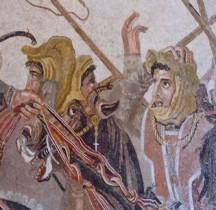 Mosaïque Rome Italie Pompéï Maison Faune Mosaico di Alessandro Naples MAN