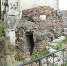Rome Rione Campitelli Forum Romain Umbilicus Urbis Romae