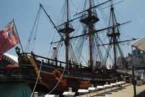 HMS Endeavour ( Replica) Sydney