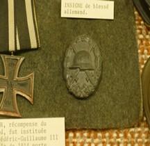 1eGM 1918 Verwundetenabzeichen in Schwarz Salon Emperi
