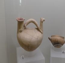 Etrurie Céramique Askos Forme Cheval Rome MNE