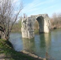 Hérault Villetelle Ambrussum Pont St Ambroix