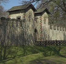 Hessen Bad Homburg vor der Höhe Fort de la Saalburg