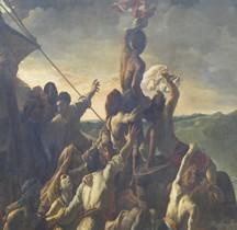 Peinture XIXe Radeau de la Méduse Théodore Géricault Paris Louvre