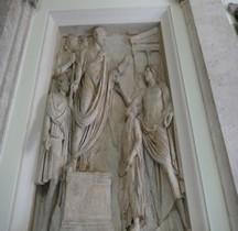 Rome Rione Campo Marzio Arc de Portogallo Bas relief Hadrien