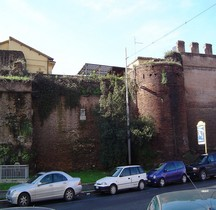 Rome Mura del URBS Rome Mura Aureliane Rione Castro Pretorio Porta Nomentana