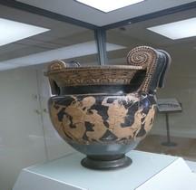 Etrurie Céramique Cratère Volutes Rea Cybele Ferrare