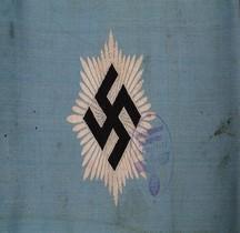 0 Armbinde 1933 Reichsluftschutzbund RLB Armband