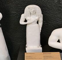 Statuaire Grèce Crete Dame Auxerre Paris Louvre Copie Montpellier