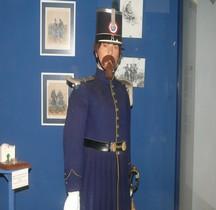 1845 8°Bataillon de Chasseur à Pied Officier Montpellier