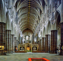 Londres Westminster Collegiate Church of St Peter Interieur