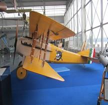 SPAD S VII avion As F.Ruffo di Calabria  Bracciano