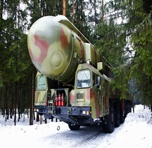 Missile Sol Sol Topol. SS-25 Sickle