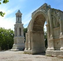 Bouches du Rhone St Remy Les Antiques Arc de Triomphe