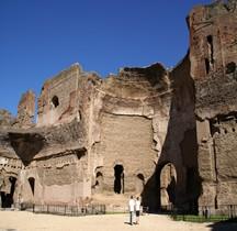 Rome Rione San Saba Thermes de Caracalla Les Palestres Est et Ouest