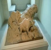 1.4.5 Paléolithique supérieur Magdalénien Couple Bisons Grotte Tuc d'Audoubert Montesquieu-Avantès