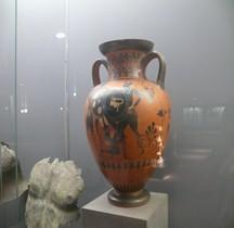 Grèce Péliké Combat d'hoplites Londres BM