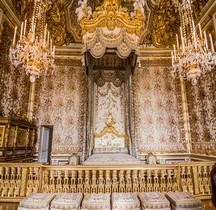 Yvelines Versailles Chateau Appartements de la Reine Chambre de la Reine