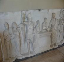 Statuaire Rome Relief dit de Domitius Ahenobarbus  Paris Louvre