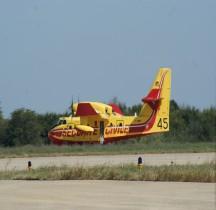 Canadair CL-415  Nimes 2015