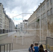 Paris Enceinte Mur de Philippe Auguste Rue Charlemagne