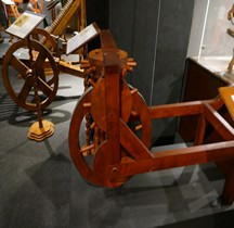 Leonardo da Vinci Odomêtre Florence Maquette