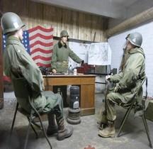 Bastogne Barracks Exterieurs  PC General McAuliffe Intérieur
