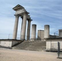 Nordrhein Westfalen Xanten Colonia Ulpia Traiana Temple