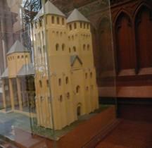 Calvados Bayeux Cathédrale Notre Dame Romane Maquette