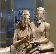 6 Etrurie Statuaire Sarcofagio dei Sposi Rome MNE