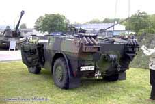 Fennek  Spähwagen Artillerie